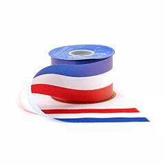 "1.5"" x 50yd Satin Patriotic Ribbon"