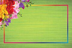Envelopes - Green Floral