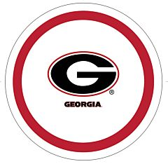 "U Of Georgia - 9"" Plate 10Ct"