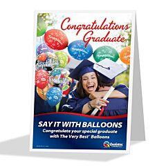 Graduation Bubble Display
