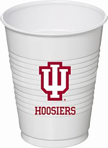 Indiana Univ  - 16oz Cup 8Ct
