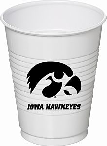 U Of Iowa - 16oz Cup 8Ct