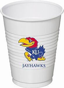 U Of Kansas - 16oz Cup 8Ct