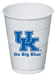 University of Kentucky - 16 oz Plastic Cup 8Ct