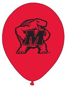 "11"" University of Maryland - Latex 10Ct"