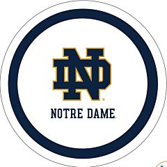 "University of Notre Dame - 9"" Paper Plate 10ct"