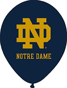 "11"" University of Notre Dame - Latex 10CT"