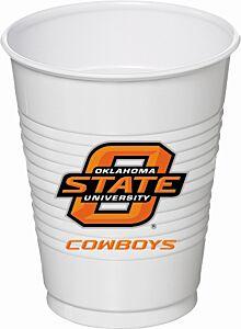 Oklahoma State - 16oz Cup 8Ct
