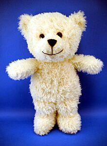 "10"" Ruddy White Bear Plush"