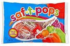 Saf-T-Pop Suckers - Assorted 8 oz Bag