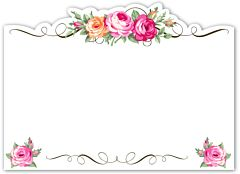 Enclosure Card - Floral