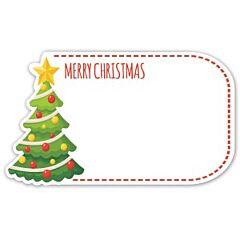 Enclosure Card - Merry Christmas Tree