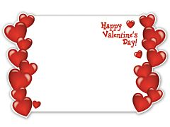 Enclosure Card - Happy Valentine's Day