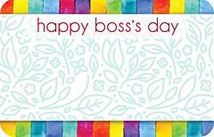 Enclosure Card - Boss's Day Stripe