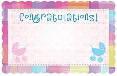 Enclosure Card - Congrats Baby