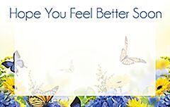 Enclosure Card - Feel Better