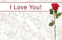 Enclosure Card - I Love You