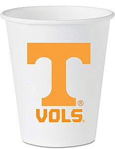 University of Tennessee - 16 oz Plastic Cup 8ct