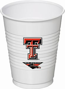 Texas Tech - 16oz Cup 8Ct
