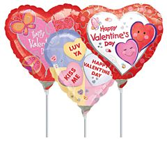 """9"""" Airfilled Val/Love Assortment"""