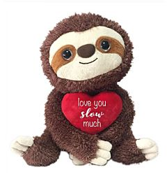 "10"" Sly Sloth Plush"